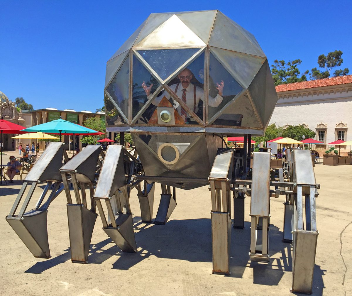James and the Giant Atomic Death Robot